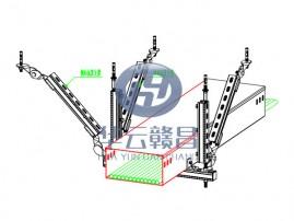 電氣橋架縱向抗震支架