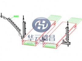 電氣橋架組合側向抗震支架